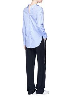 rag & bone'Calder' two-way button down cotton shirt
