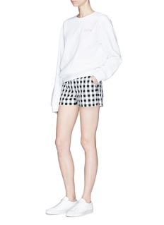 rag & bone'Carson' gingham check shorts