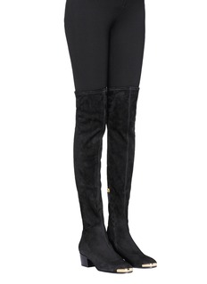 Giuseppe Zanotti Design 'Nicky' suede sock boots