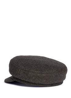 Isabel Marant 'Evie' flannel boyish cap