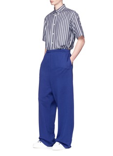 BalenciagaStripe boxy fit shirt