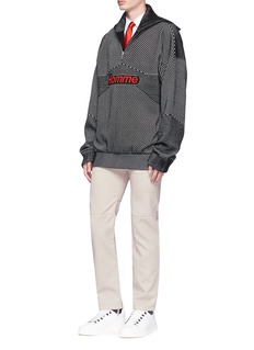 Balenciaga'Homme' intarsia stripe sweater
