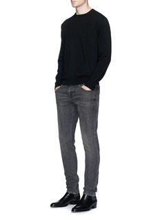 BalenciagaLogo jacquard sweater