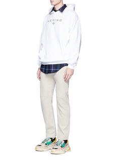 Balenciaga 'Kering' print hoodie