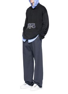 Balenciaga Stripe hooded shirt