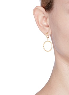 Isabel Marant Étoile 'Nirvana' linked hoop earrings