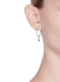 Isabel Marant 'Perky' small beaded hoop earrings