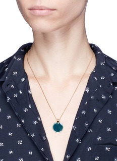 Isabel Marant Étoile 'Featuring' enamel disc necklace
