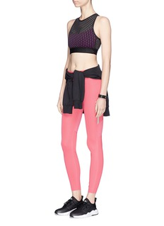 AlalaCross back perforated sports bra