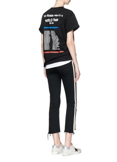 Etre Cecile  World tour music note print T-shirt