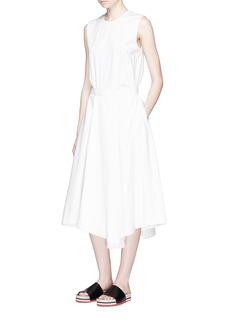 ENFÖLDPleated wrap skirt jersey dress