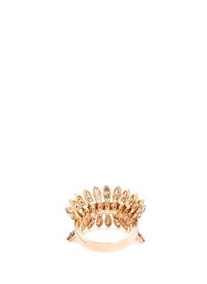 Ferrari Firenze 'Sole' diamond 18k rose gold ring