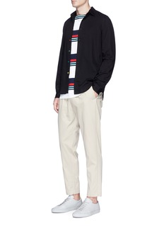 PS by Paul Smith Contrast button twill shirt