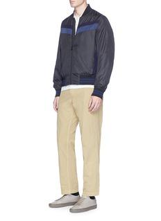 PS by Paul SmithStripe nylon bomber jacket