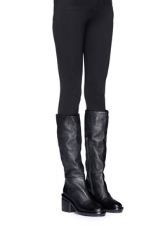 Marsèll 'Salvagente' deerskin leather knee high boots