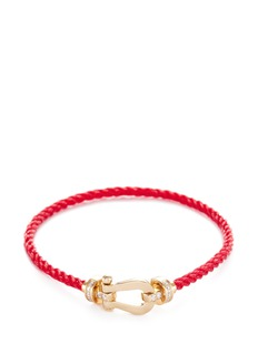 Fred 'Force 10' medium braided cable cuff