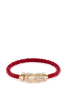 Fred '8°0' large braided cable cuff