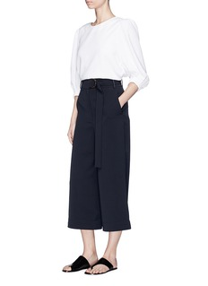 Tibi Belted suiting culottes