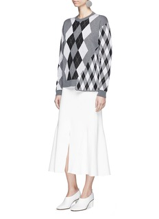 Stella McCartney Stretch knit flared skirt