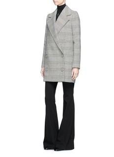 Stella McCartney 'Edith' double-breasted houndstooth coat