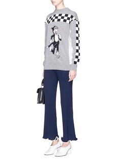 Stella McCartney 'The Dandy' intarsia virgin wool sweater
