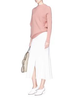 Stella McCartney Asymmetric virgin wool sweater
