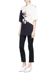 Stella McCartney 'The Dandy' print darted T-shirt