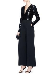 Stella McCartney 'Rosie' sequin silk jumpsuit