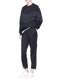 Stella McCartney Fringe outseam jogging pants
