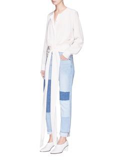Stella McCartney 'Freya' silk crepe blouse