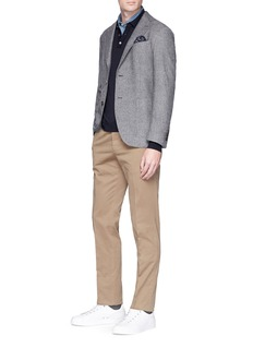 Incotex Slim fit cotton twill chinos