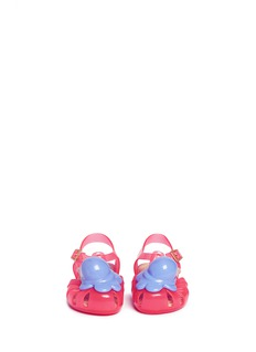 Melissa 'Aranha X' ice cream PVC toddler sandals