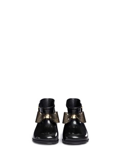 Melissa 'Sugar Rain Bow' PVC toddler rain boots