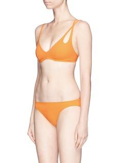 Araks'Elias' asymmetric strap bikini top