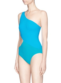 Araks 'Elmar' colourblock cutout one-piece swimsuit