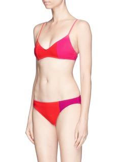 Araks'Elsa' colourblock bikini top