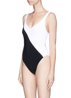 Araks 'Harley' colourblock one-piece swimsuit