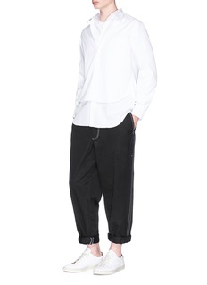 Comme Des Garçons Shirt Logo print long sleeve T-shirt