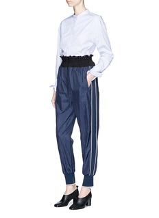 3.1 Phillip Lim Smocked jogging pants
