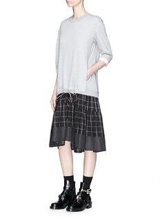3.1 PHILLIP LIM 拼接设计卫衣连衣裙