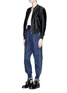 3.1 Phillip Lim Snowbird print silk twill sleeveless top
