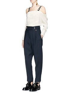 3.1 Phillip Lim Pleated double crepe cady pants