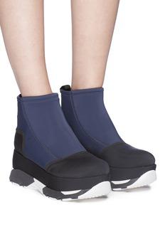 Marni 'Selva' colourblock platform sneakers
