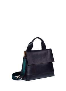 Marni 'City Pod' lambskin leather crossbody bag