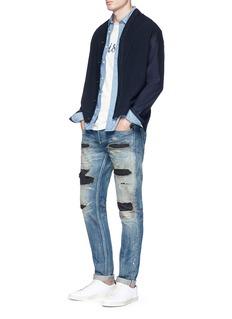Denham 'Razor Zmijas' ripped slim fit jeans