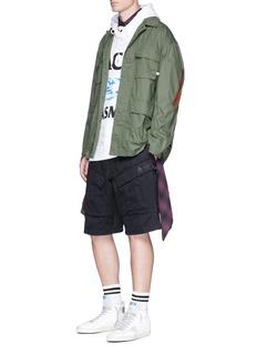 FACETASMLogo graphic print oversized hoodie