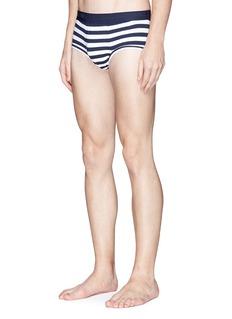 Dolce & Gabbana Stripe stretch cotton briefs