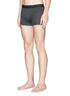 Dolce & Gabbana Polka dot print cotton boxer briefs