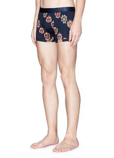 Dolce & Gabbana Crest print cotton boxer briefs