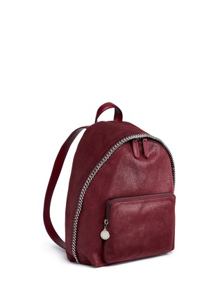 Detail View - Click To Enlarge - Stella McCartney - 'Falabella' small shaggy deer backpack